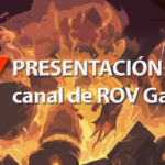 Presentacion Youtube de ROV Gaming