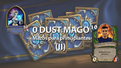 Mazos para principiantes - Mago 0 dust - Hearthstone - ROV Gaming