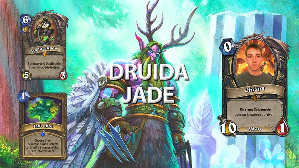 Druida Jade - Hearthstone