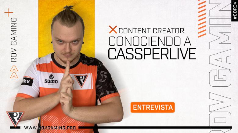 Entrevista - ROV Gaming - Cassperlive